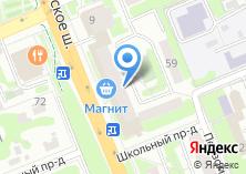 Компания «Московские окна» на карте