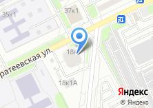 Компания «Братеевская 18-1» на карте