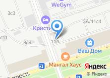 Компания «Омега лизинг» на карте