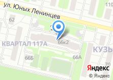 Компания «Муниципалитет внутригородского муниципального образования Кузьминки» на карте