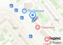Компания «Строящийся жилой дом по ул. Западный микрорайон (г. Домодедово)» на карте