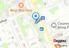 Компания «Такси Домодедово - Пассажирские перевозки» на карте