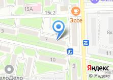 Компания «Лазерные машины» на карте