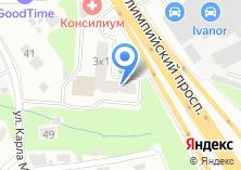 Компания «Семь Лестниц» на карте