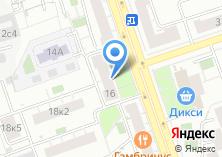 Компания «Газпром межрегионгаз Москва» на карте