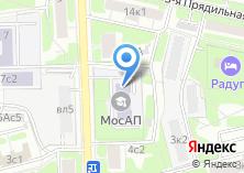 Компания «Московская академия предпринимательства при Правительстве г. Москвы» на карте