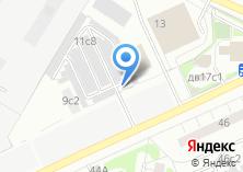 Компания «РООА Рязанкско автостоянка» на карте