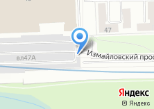 Компания «Гаражно-строительный кооператив №5» на карте