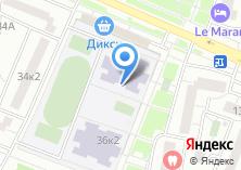 Компания «Средняя общеобразовательная школа №1987» на карте