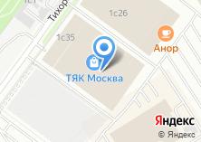 Компания «Магазин красок на Тихорецком бульваре» на карте