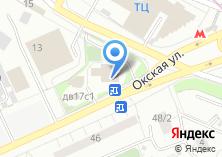 Компания «Храм Преподобного Сергия Радонежского на Рязанке» на карте