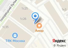 Компания «Магазин крепежных изделий и инструмента на Тихорецком бульваре» на карте