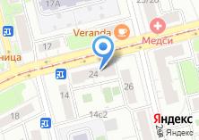 Компания «Адвокатский кабинет Федоров А.В.» на карте
