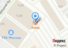 Компания «Магазин дверей на Тихорецком бульваре» на карте