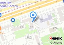 Компания «Перово» на карте