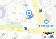 Компания «Космотерос» на карте