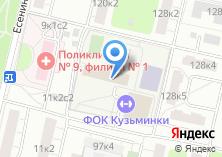 Компания «СДЮСШОР №64» на карте