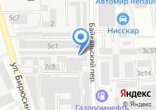 Компания «Tech» на карте