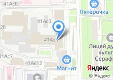 Компания «Миракл Оптикс» на карте