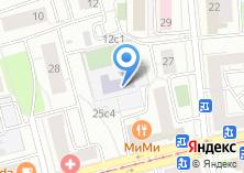 Компания «Средняя общеобразовательная школа №445» на карте