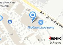Компания «Лесдомторг» на карте