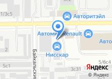 Компания «Шиномонтажная мастерская на Байкальской» на карте