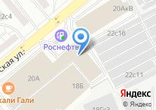 Компания «Интехком» на карте