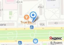 Компания «Технострой» на карте