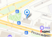 Компания «Почтовое отделение №109456» на карте
