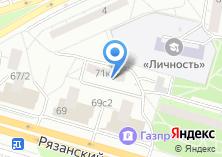 Компания «Участковый пункт полиции Рязанский район» на карте