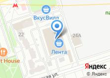 Компания «Pegas» на карте