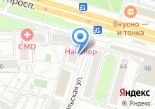 Компания «Комус» на карте