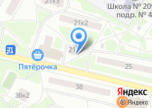 Компания «Продовольственный магазин на ул. Фёдора Полетаева» на карте