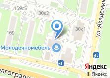Компания «Молодечномебель» на карте