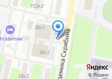 Компания «Шиномонтажная мастерская на Академика Скрябина» на карте