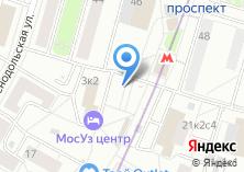 Компания «Магазин цветов на Новокузьминской 1-й» на карте