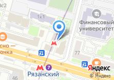 Компания «Станция Рязанский проспект» на карте