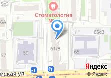 Компания «Городская поликлиника №182» на карте