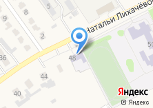 Компания «Детская школа искусств с. Федосеевка» на карте