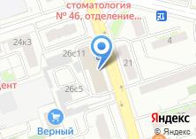 Компания «Модус» на карте