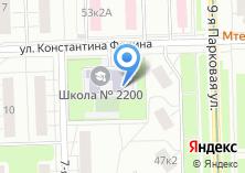 Компания «Прогимназия №1718» на карте