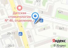 Компания «ОДС Инженерная служба района Перово» на карте