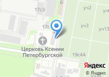 Компания «Автосервис на ул. Академика Скрябина» на карте