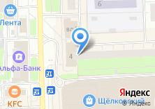 Компания «Пенснэ оптик» на карте