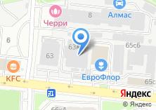 Компания «Калининский-1» на карте