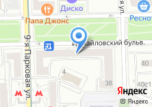 Компания «Цветы в Сокольниках» на карте