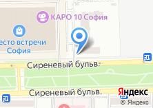 Компания «Шиномонтажная мастерская на Сиреневом бульваре» на карте