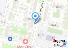 Компания «Комбинат ЖБИ-1» на карте
