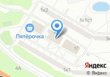 Компания «Почтовое отделение №111395» на карте