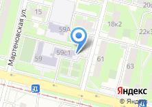 Компания «Средняя общеобразовательная школа №406» на карте